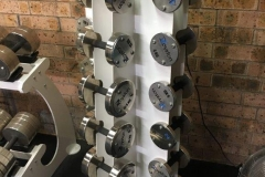 Dumbbells with Magnet Attachments
