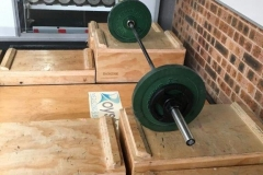 Squat Platform with Blocks